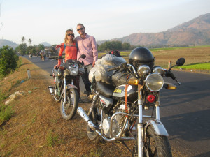 Mc-äventyr i de Annamitiska bergen! A motorcycle adventure in the Annamite mountains!
