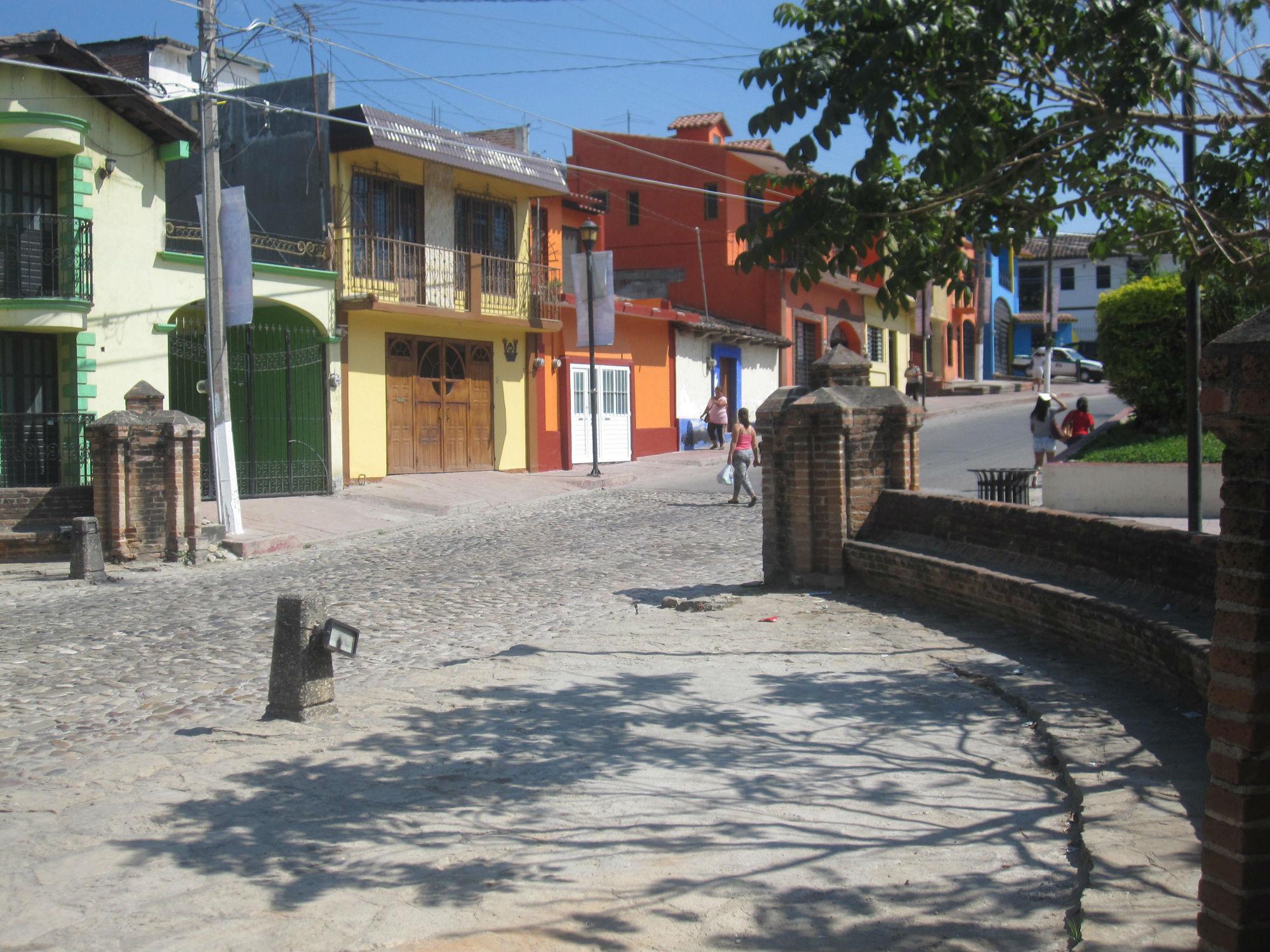 Vi åkte även till Chiapa de Corzo och promenerade runt där innan vi åkte tillbaka till San Cristobal del las Casas. We also went to Chiapa de Corzo and walked around there before we went back to San Cristobal del las Casas