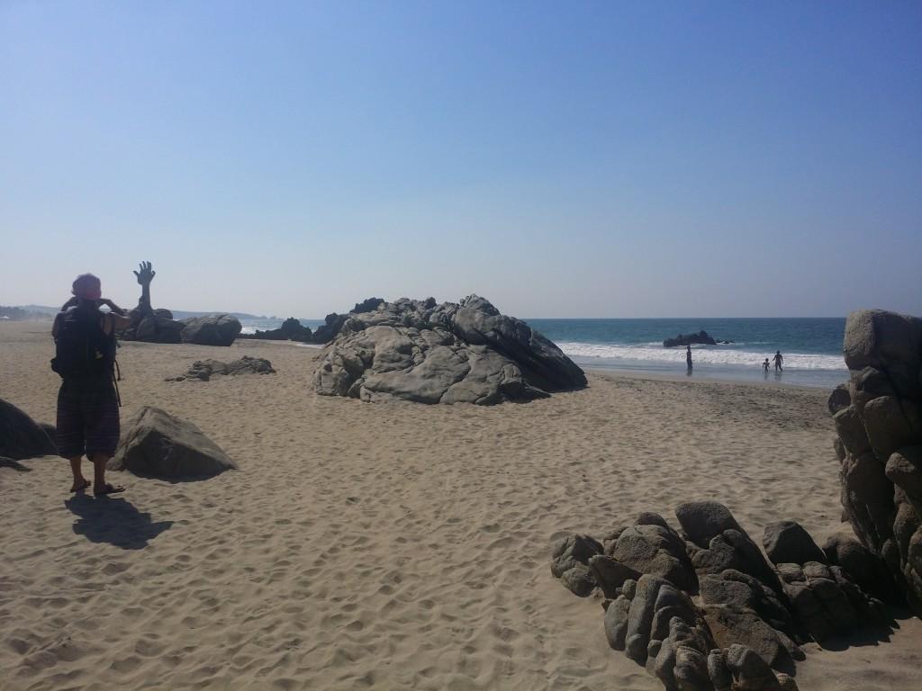 Hej Stilla havet, roligt att ses igen! Hey Pacific, nice to see you again!