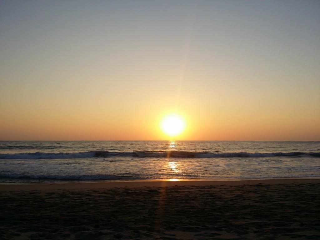Otroligt vackra solnedgångar!