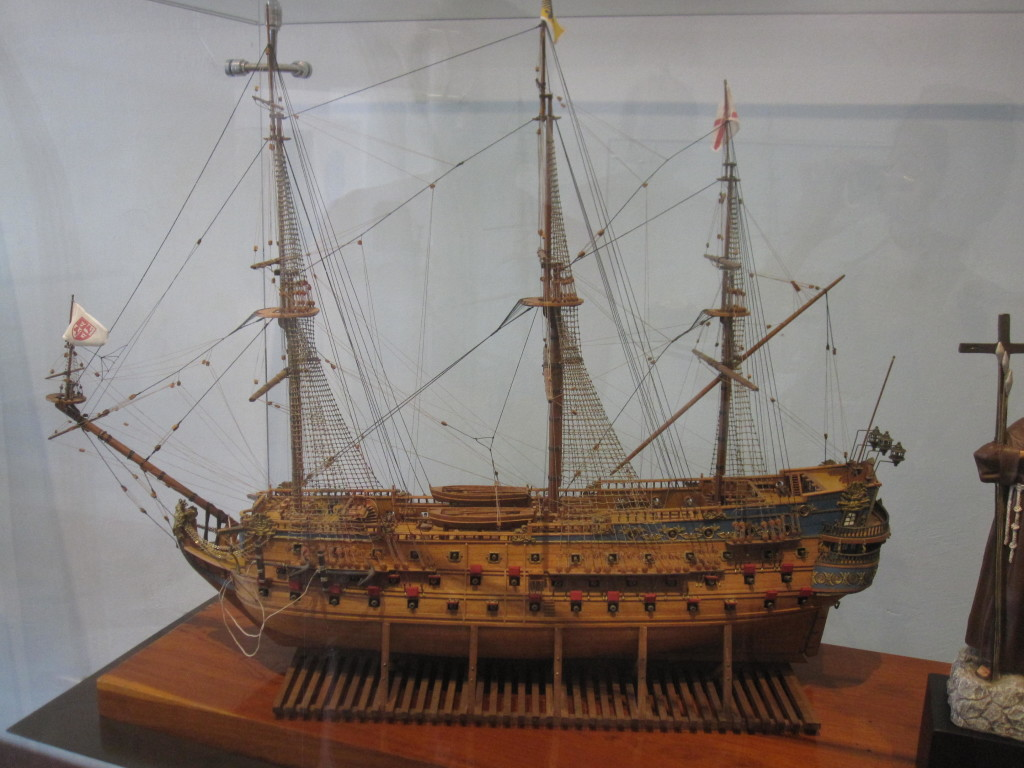 Manilagaleonen! The Manila galleon!