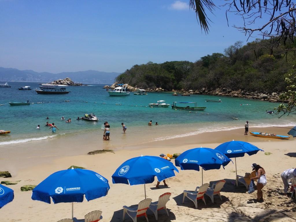 Stranden på La Roqueta!
