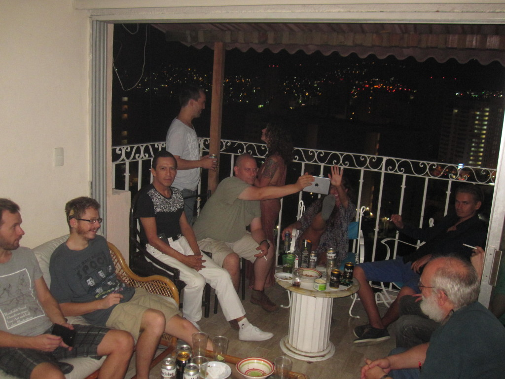 Vi hade en del fester hemma hos oss under vår tid i Acapulco! We had some parties at our place during our time in Acapulco!