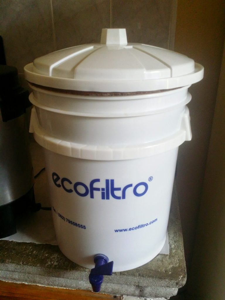 Ecofiltret vi hittade i Antigua! The Eco filter we found in Antigua!