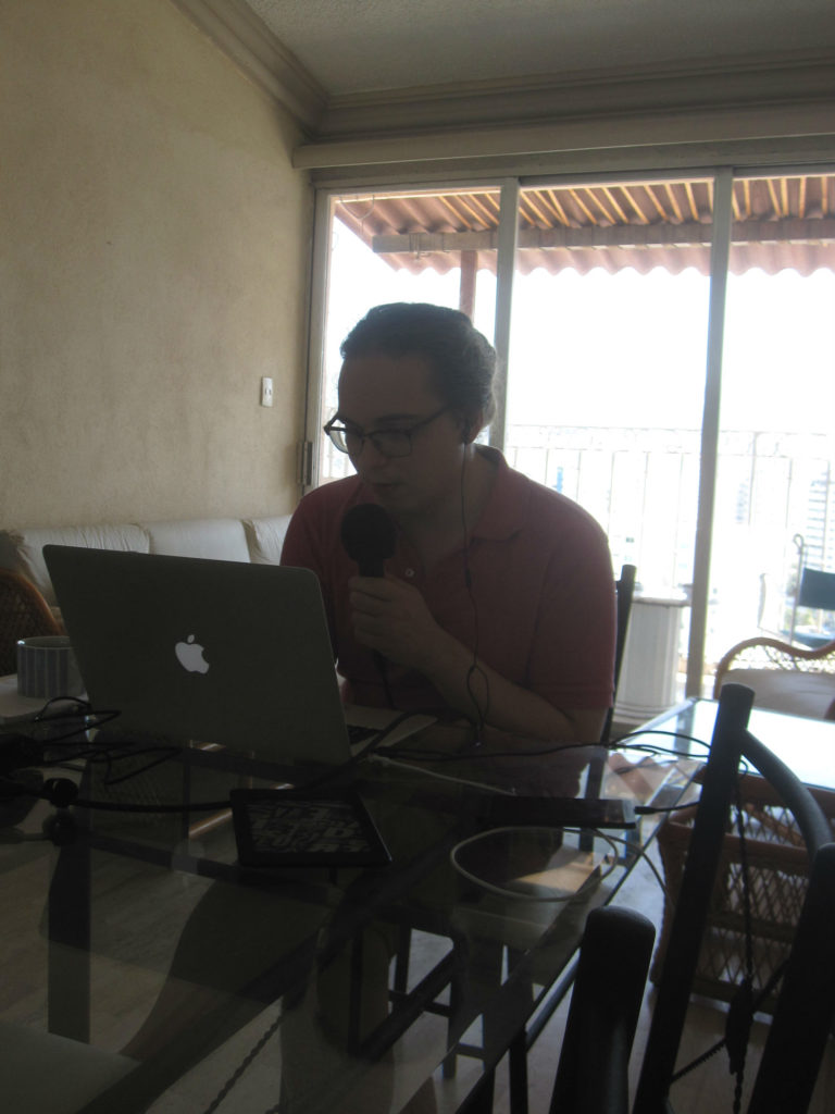 Vi fick möjlighet att bistå Martin med arbetsyta och wifi för inspelning av radio bubb.la i Acapulco tidigare i år! We were able to help Martin with a workspace and wifi for recording of radio bubb.la in Acapulco earlier this year!